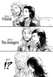 thor with loki by Jonddm