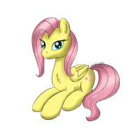 Fluttershy by maxca