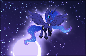 Princess of the Night (frame redraw) by Zmei-Kira