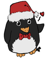 Christmas Penguin by ChapperIce