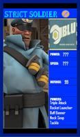 Strict Soldier Card by Ask-TF2-Red-Medic