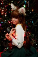 Christmas Holo: Spice and Wolf by Kitnichi