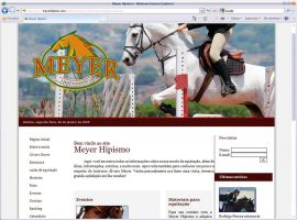 Site Meyer Hipismo by mediatom