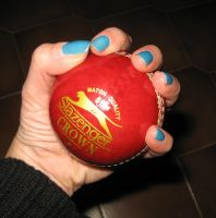 My cricket ball by StregattaPuponzi