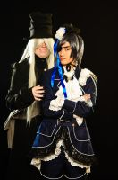[Black Butler] UndertakerxCiel Cosplay 1 by UncleUndertaker