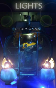 LIGHTS- LITTLE MACHINES Artwork by Rurther