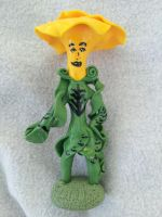 Flower person figure by dobharachu