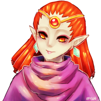 A Link between worlds -- Yuga by onisuu