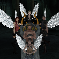Wesker and his Angels Remake by IamRinoaHeartilly