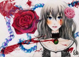 Rose of Pain by Tsukino-Black