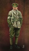 Sergeant, 2nd Royal Welch Fusiliers by sandu61