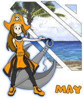Guilty Gear - May - colored by bugs92