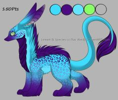 Cool Blue Adopt [150Pts OPEN] by SnuggieBoo