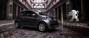 Peugeot 107 by 3DEricDesign