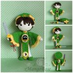 Syaoran Li Doll from Cardcaptors by xMangoRose