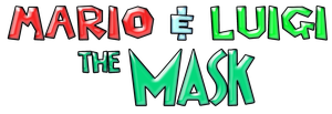 Mario and Luigi The Mask Logo by KingAsylus91