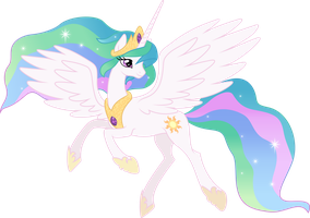 [Commission] Princess Celestia by GameMasterLuna