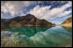 Turquoise Reflection by stetre76