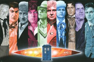 Doctor Who by caldwellart