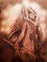 Silent Hill - Red Pyramid Thing by jameson9101322