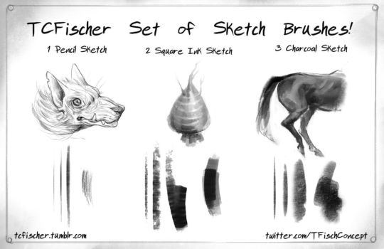 Edsfox 300 23 photoshop sketch brushes set of 3 by beastysakura
