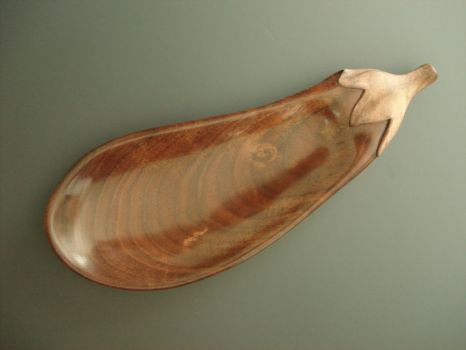 Eggplant spoon by Sp00ntaneous