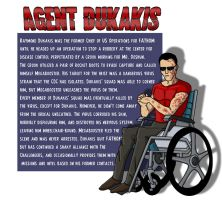 Agent Dukakis: Impossible Odds by PaulOoshun