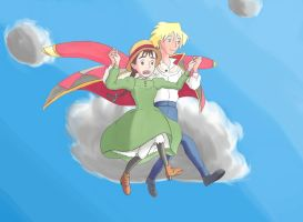 Howl's Moving Castle: Escort by Mattierial