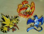 Pokemon sprite bead 5 by Chiki012