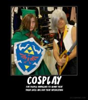 Cosplay Demotivational Poster by xStage