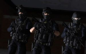 SWAT Team by LordHayabusa357