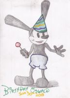 Birthday Oswald by MagicDreamer0630