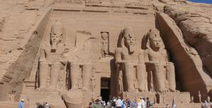 Great Temple Of Ramesses II by Tasky