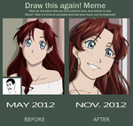 Draw This Again Meme by Bitter-Cherry