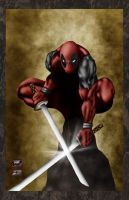 Deadpool DigiPaint by Jake-Townsend