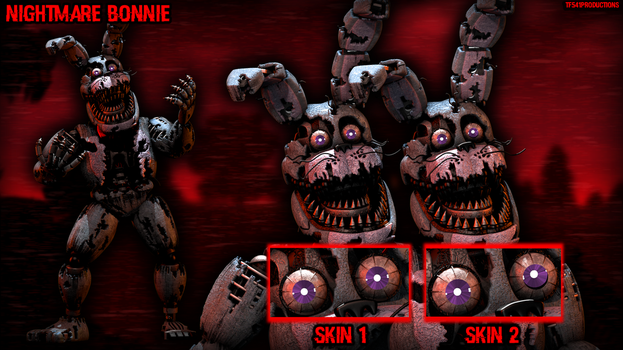 Nightmare Bonnie Workshop Showcase by TF541Productions