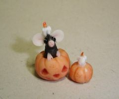 Halloween mouse 4 by Fairiesworkshop