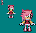 Custom Front Pose for Amy Rose by xXxCamTroxXx