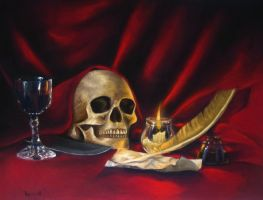 Medievil still life by butterflybutcher