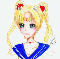 Sailormoon Quick Sketch by marikit