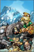 battle chasers exercice  colo by easycheuvreuille