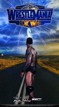 Wrestlemania 27 Poster by ionut27
