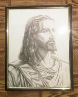 Vizatim Jezusi - Jesus Drawing_08 by eduaarti