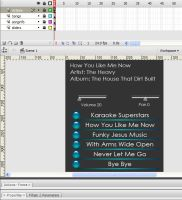 Flash mp3 player-Screencapture by Stacey1mb