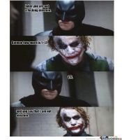 Joker beats Batman by jokercrazy