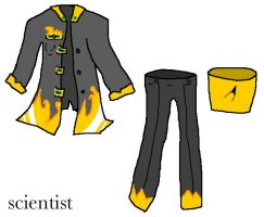 scientist required outfit Alias by Fur3ver