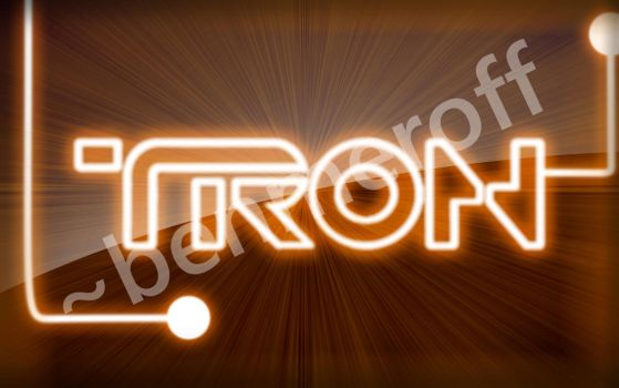 Tron Wallpaper Orange by benmeroff