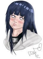 Hinata's Smile by T-G-I