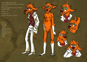 Edgar Reference Sheet by ceallach-monster