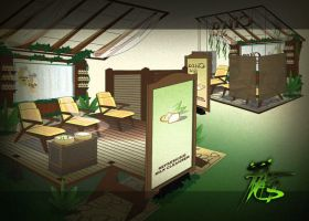 booth by ipang